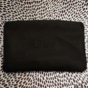 Black Dior pouch